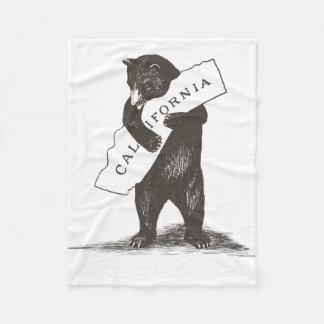 Te amo California Manta De Forro Polar