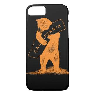 Te amo California--Naranja y negro Funda iPhone 7