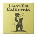 Te amo California Teja Ceramica