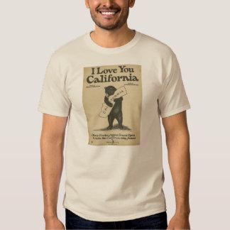 Te amo camisa de California