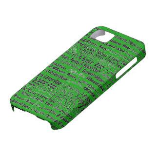 Te amo caso de Iphone iPhone 5 Case-Mate Protectores
