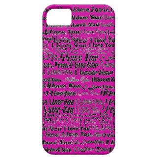 Te amo caso de Iphone iPhone 5 Coberturas