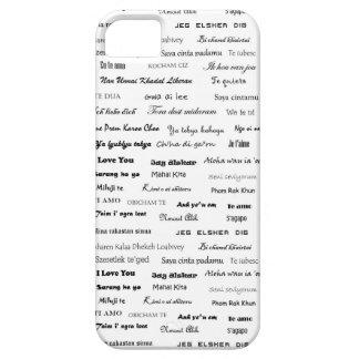 Te amo caso de Iphone iPhone 5 Fundas