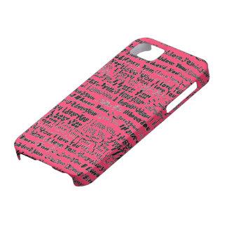 Te amo caso de Iphone Funda Para iPhone SE/5/5s