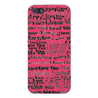 Te amo caso de Iphone iPhone 5 Funda