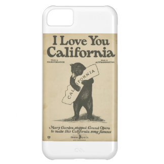 Te amo caso del iPhone 5 de California Funda iPhone 5C
