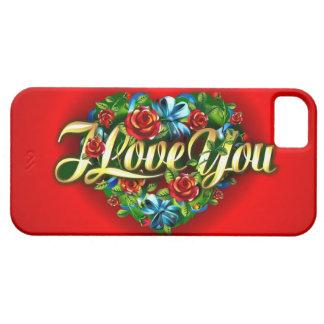 Te amo caso del iPhone 5 Funda Para iPhone SE/5/5s