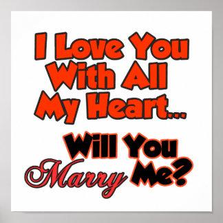 Te amo con todo mi corazón poster