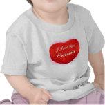 Te amo corazón de Emma Camiseta
