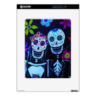 Te amo Dia de los Muertos Wedding Decal For The iPad