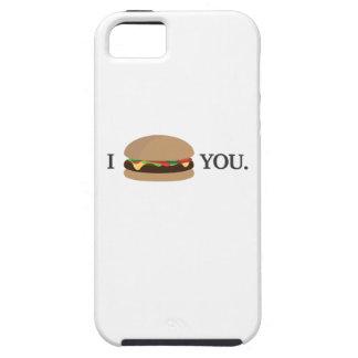 Te amo (edición de la hamburguesa) iPhone 5 cárcasas