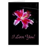¡Te amo! , En blanco Tarjeton