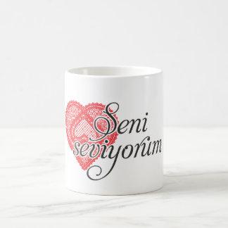Te amo en turco - seviyorum de Seni Taza