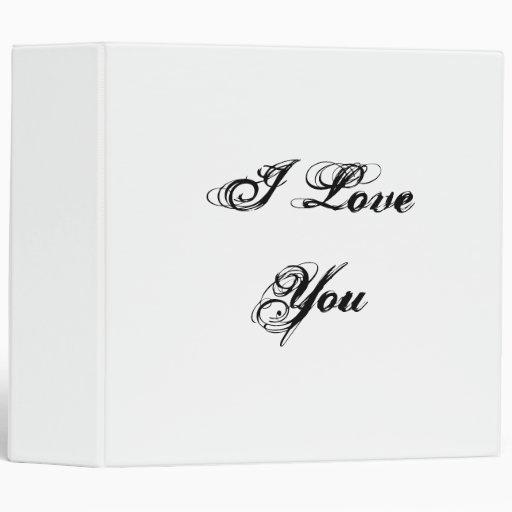 """Te amo. En una fuente de la escritura. Blanco y ne Carpeta 2"""""""