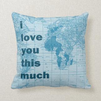 Te amo esta mucha almohada del ~