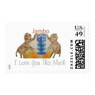 Te amo este mucho sellos de Hakuna Matata