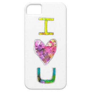 Te amo iPhone 5 carcasa