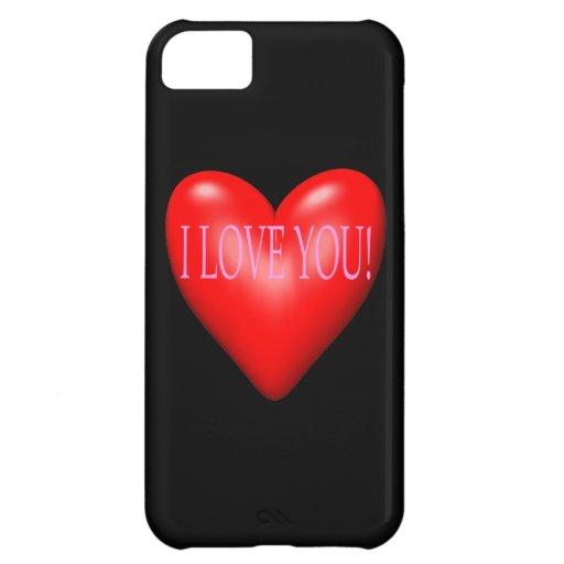 Te amo funda para iPhone 5C