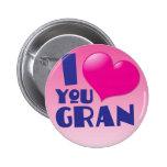 ¡Te amo Gran! Pins
