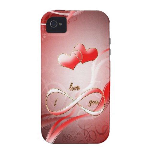 Te amo infinitamente iPhone 4 fundas