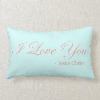Te amo - Jesucristo Cojines
