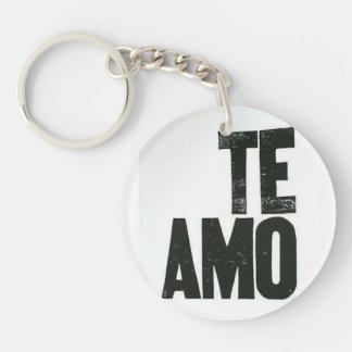 Te amo keyring keychain