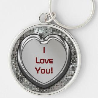 ¡Te amo Llavero del corazón