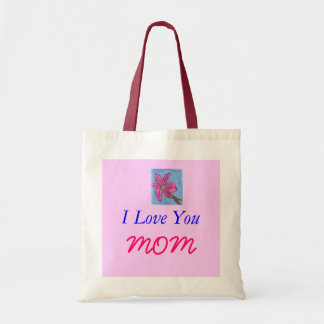 Te amo, MAMÁ Bolsa Tela Barata