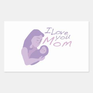 Te amo mamá rectangular altavoces