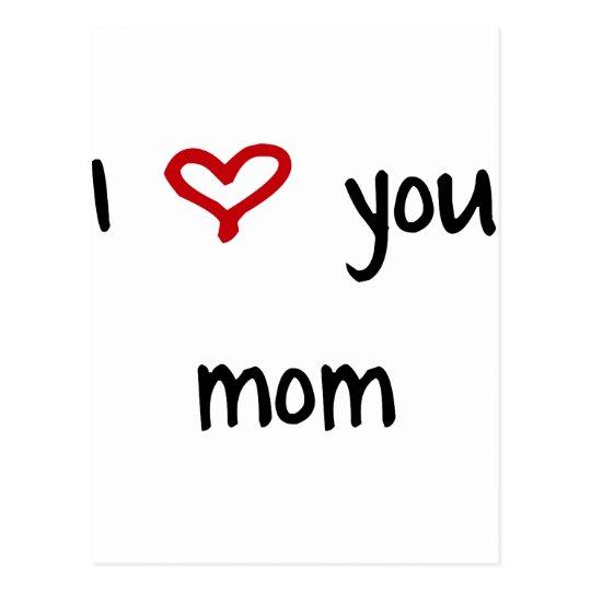 Te amo, mamá postales