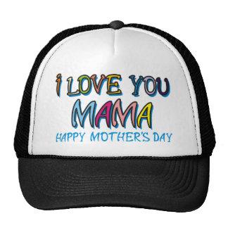 Te amo mamá Shirts Gorra