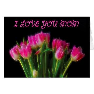 Te amo mamá felicitacion