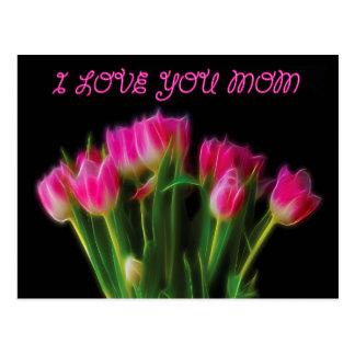 Te amo mamá postal