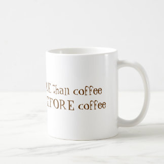 Te amo más que el café taza