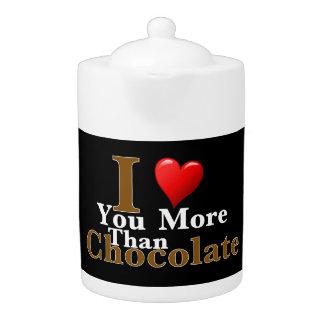 ¡Te amo más que el chocolate!