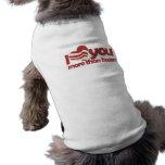 Te amo más que el tocino camisetas de perrito