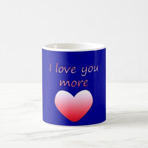 Te amo más taza