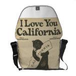 Te amo mensajero de California Bolsa Messenger