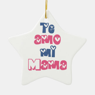 Te Amo Mi Mama Ceramic Ornament