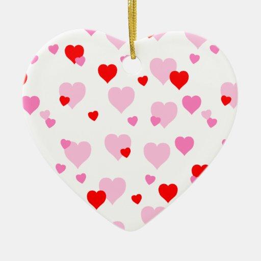 Te amo ornamento del corazón ornatos