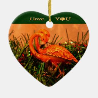 Te amo ornamento ornamento de navidad