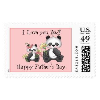 ¡Te amo papá! El día de padre feliz Sellos