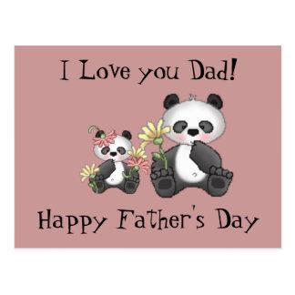 ¡Te amo papá El día de padre feliz Postales