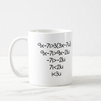 Te amo para los científicos, profesores de taza