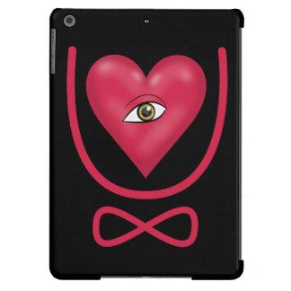 Te amo para siempre eternidad del corazón U del Funda Para iPad Air