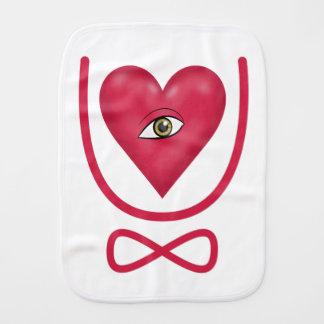Te amo para siempre eternidad del corazón U del oj