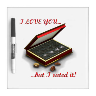 ¡Te amo, pero yo eated lo! Tableros Blancos