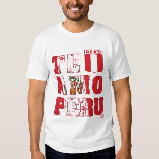 Te Amo Peru (long/light) - InKa1821 Label T-Shirt