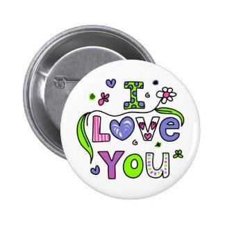 Te amo pin