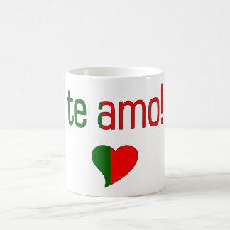 Te Amo! Portugal Flag Colors Coffee Mug